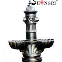 Large picture cast iron water fountain