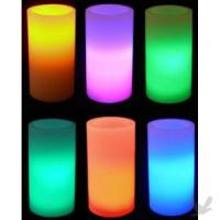 Large picture Battery Operated Wax LED Light Candle Lamp