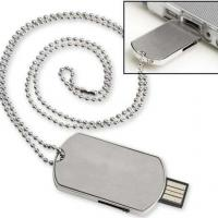 Large picture Metal dog tag usb flash drive