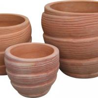 Large picture terracotta planter
