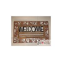 Large picture cast iron door mat