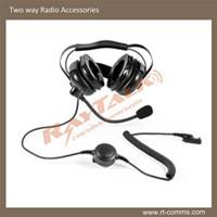 Large picture Two-way Radio Heavy Duty Headset suit for motorola