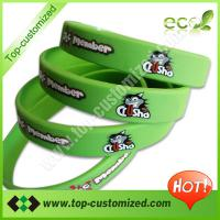 Large picture silicone wrist band