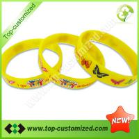 Large picture Custom silicone wristband for children
