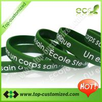 Large picture Cheap custom silicone bracelet
