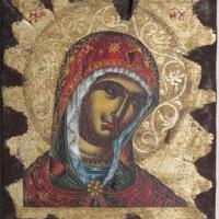 Large picture Religious icon of Virgin