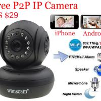 Large picture P2P Indoor Wireless Infrared Audio IP Camera