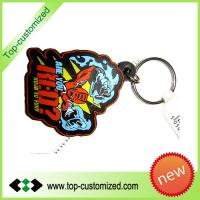 Large picture 3D rubber keyring