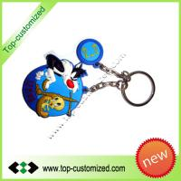 Large picture Rubber promotion keyring