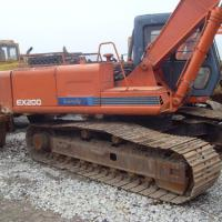 Large picture used hitachi excavators EX200-1