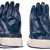 Large picture Working nitrile gloves with safety cuff
