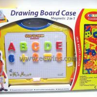 Large picture Drawing toys board case with magnetic 63 pcs