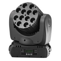 Large picture RGBW 4in1 12*10W Cree  LED beam moving head light