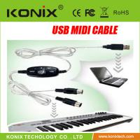 Large picture USB Midi Cable ,Midi linking cable