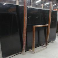 Large picture shanxi black granite slab