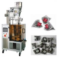 Large picture Automatic nylon triangle tea bag packaging machine