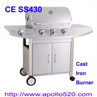 Large picture Freestanding Grills Barbecue with cast iron burner