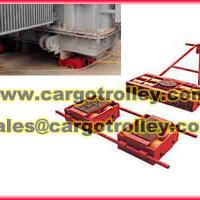 Large picture cargo moving trolley