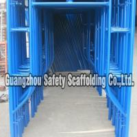 Large picture Q235 strong steel h frame scaffolding