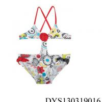 Large picture Flower Printed Trikini