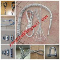Large picture galvanization Cable grip,Cable Socks