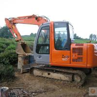 Large picture used hitachi excavator zx55 zx60 zx210