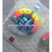 Large picture Hologram Self-adhesive Sticker