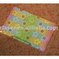 Large picture Hologram Laminating Pouches