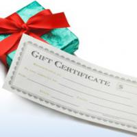 Large picture Gift Certificate Printing