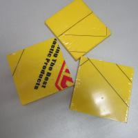 Large picture Engineering plastic  yellow hdpe sheet