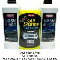Large picture Dove Wash & Wax Car Shampoo