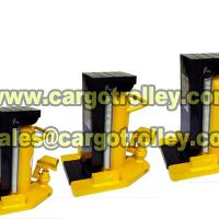 Large picture Hydraulic toe jack