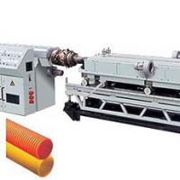 PVC/PE Single/Double Wall Corrugated Pipe Extruder