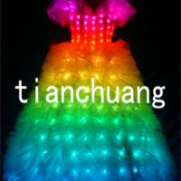 Large picture LED Light Princess-Style Wedding Dress