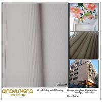 Large picture Paintable Pu Coating Stretch Ceiling Fabric