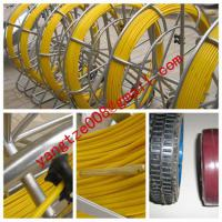 Large picture frp duct rod,shake frame fiberglass duct rodder
