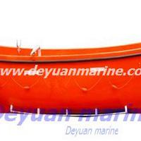 Large picture open type FRP life boat