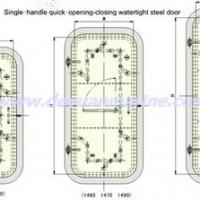 Large picture Quick Opening And Closing Steel Watertight Door