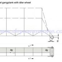 Large picture Steel Gangway Ladder With Roller