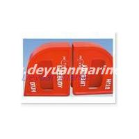 Quick released box for life buoy