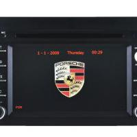 Large picture Car DVD Player Porsche Cayenne  GPS Navigation