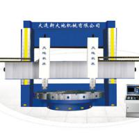 Large picture CNC vertical lathe machines in china