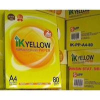 Large picture Ik Yellow  A4 Copy Paper 80gsm,75gsm,70gsm