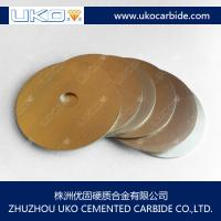 Large picture tungsten carbide blades for cutting solid wood