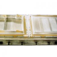Large picture freezer door forming mould