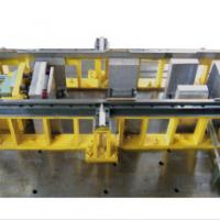 Large picture base seat for refrigerator cabinet forming mould