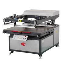 Large picture Oblique arm type flat screen printing machine