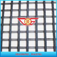 Large picture High Tensile Strength Fiberglass Geogrid