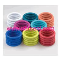 Large picture colored rubber o-rings