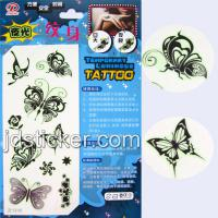 Large picture Black & White Tattoo Sticker